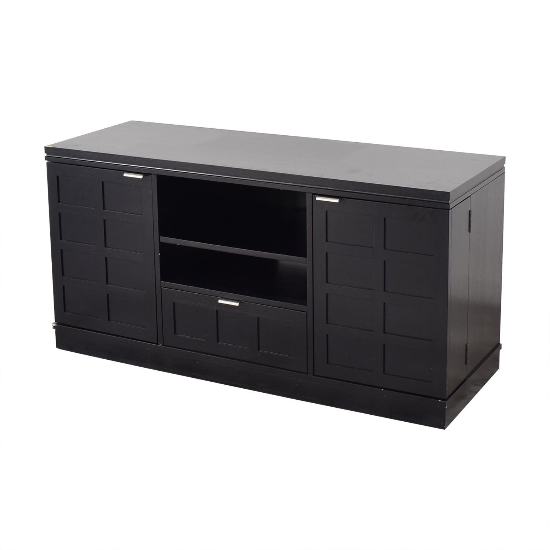 shop Crate & Barrel Media Console Crate & Barrel Storage