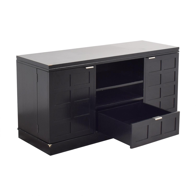 Crate & Barrel Crate & Barrel Media Console Storage