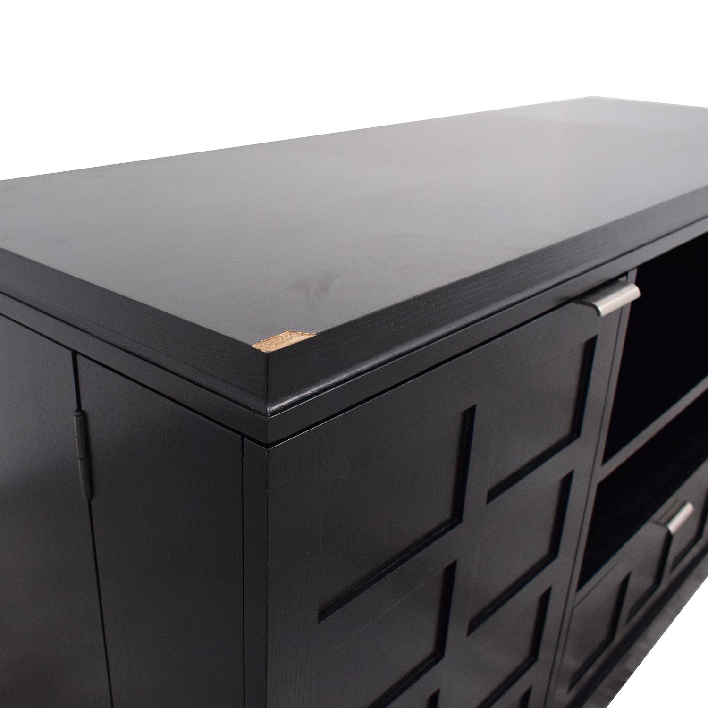 shop Crate & Barrel Media Console Crate & Barrel