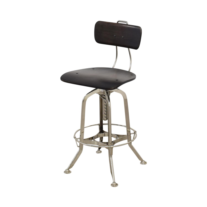 shop Restoration Hardware 1940s Vintage Toledo Bar Chair Restoration Hardware Stools