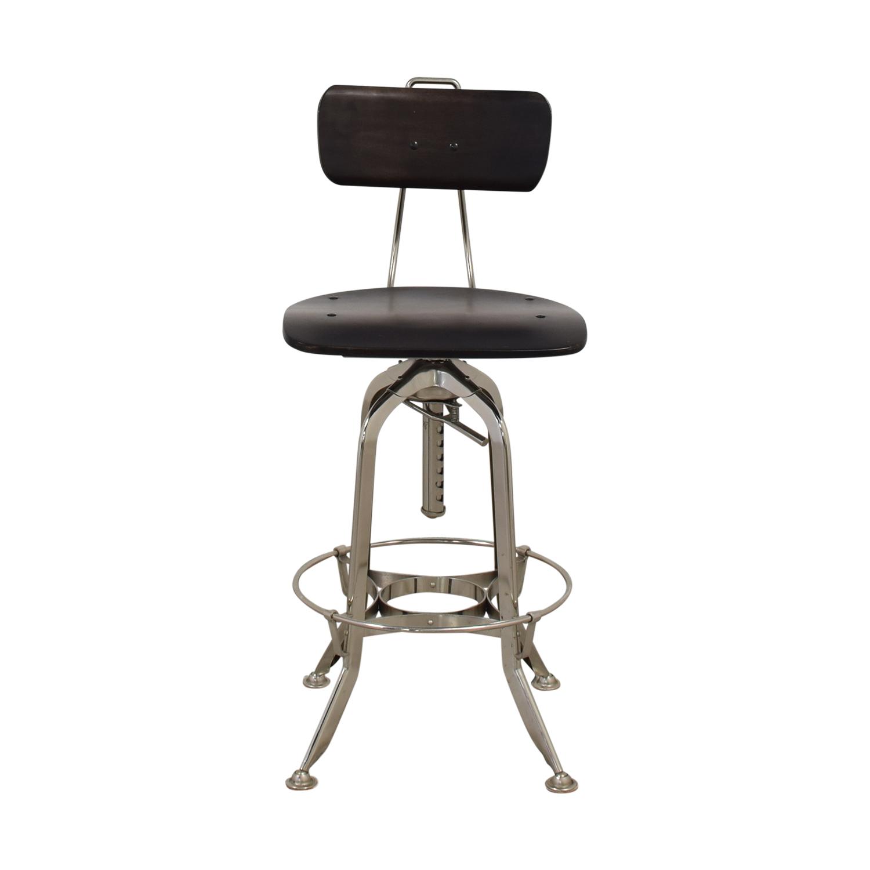 Restoration Hardware Restoration Hardware 1940s Vintage Toledo Bar Chair Stools
