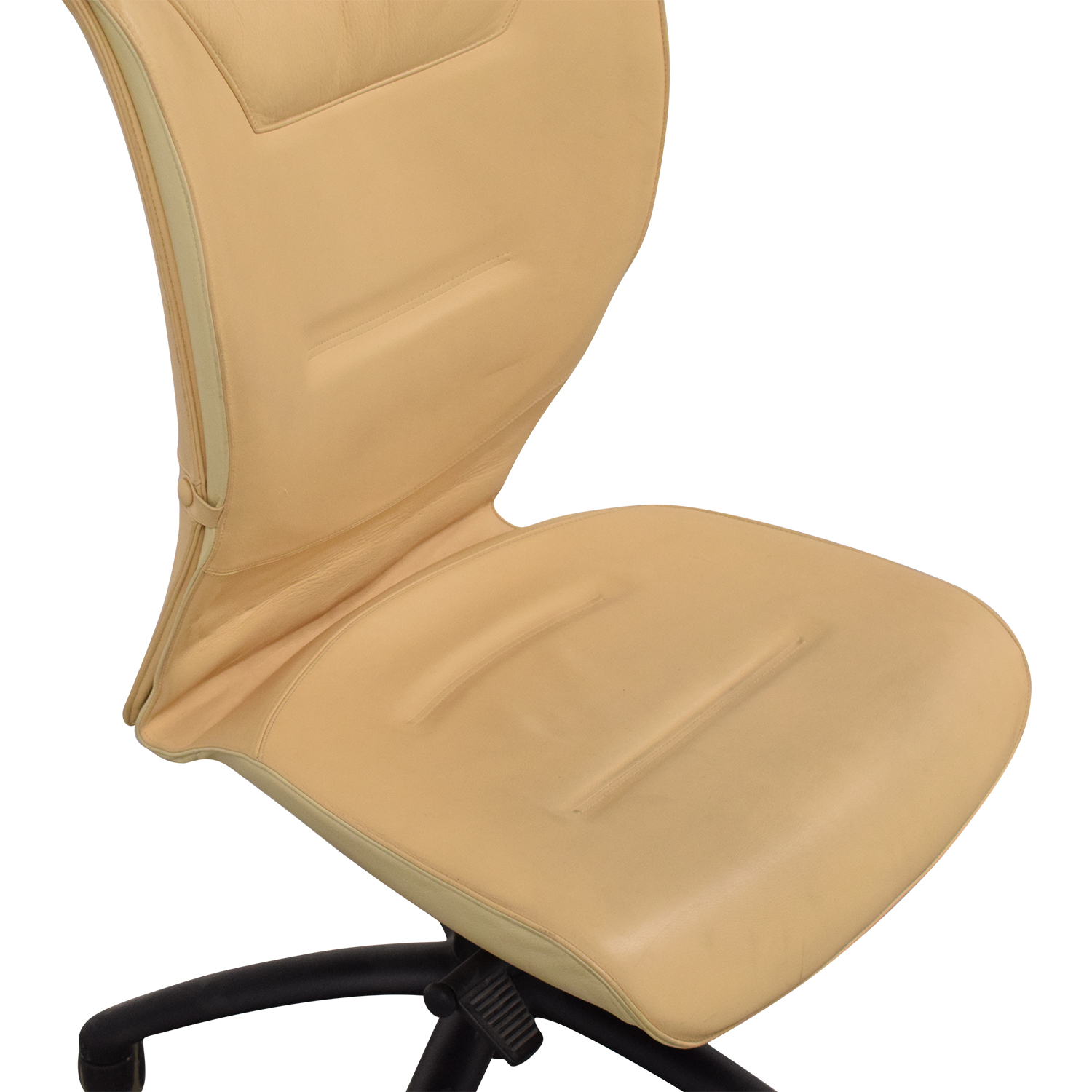 Poltrona Frau Poltrona Frau Office Chair yellow