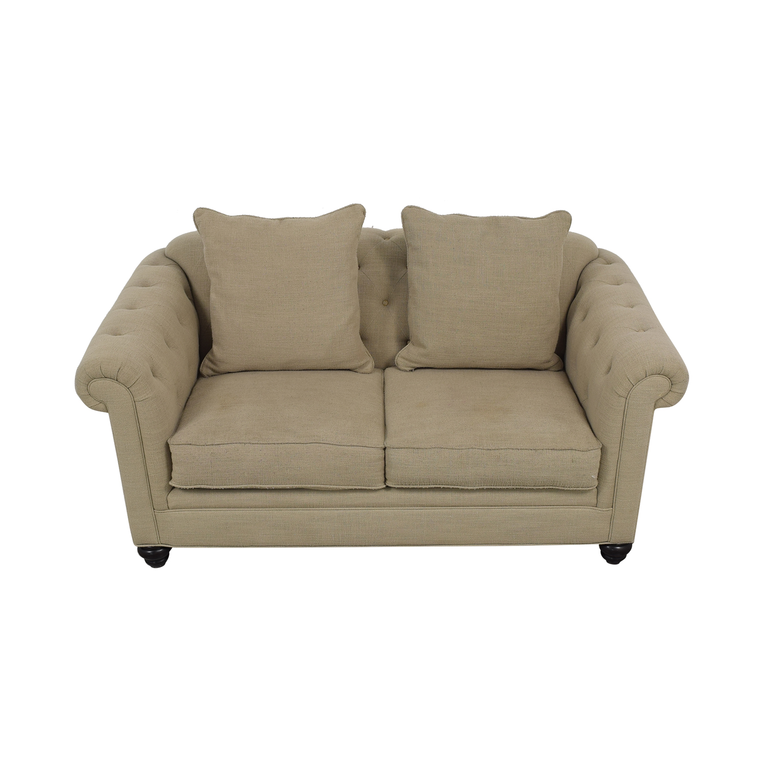 Jonathan Louis Jonathan Louis Cambridge Loveseat tan