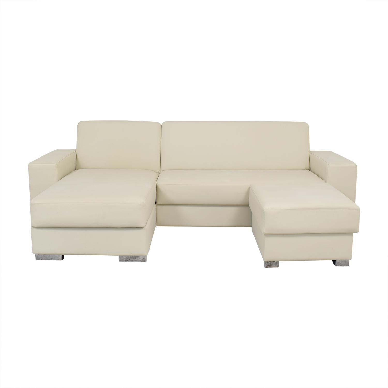 Hudson Furniture & Bedding Hudson Furniture Kobe Sectional Sofa Bed with Storage for sale