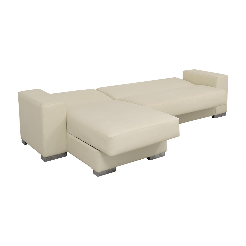 buy Hudson Furniture Kobe Sectional Sofa Bed with Storage Hudson Furniture & Bedding Sofas