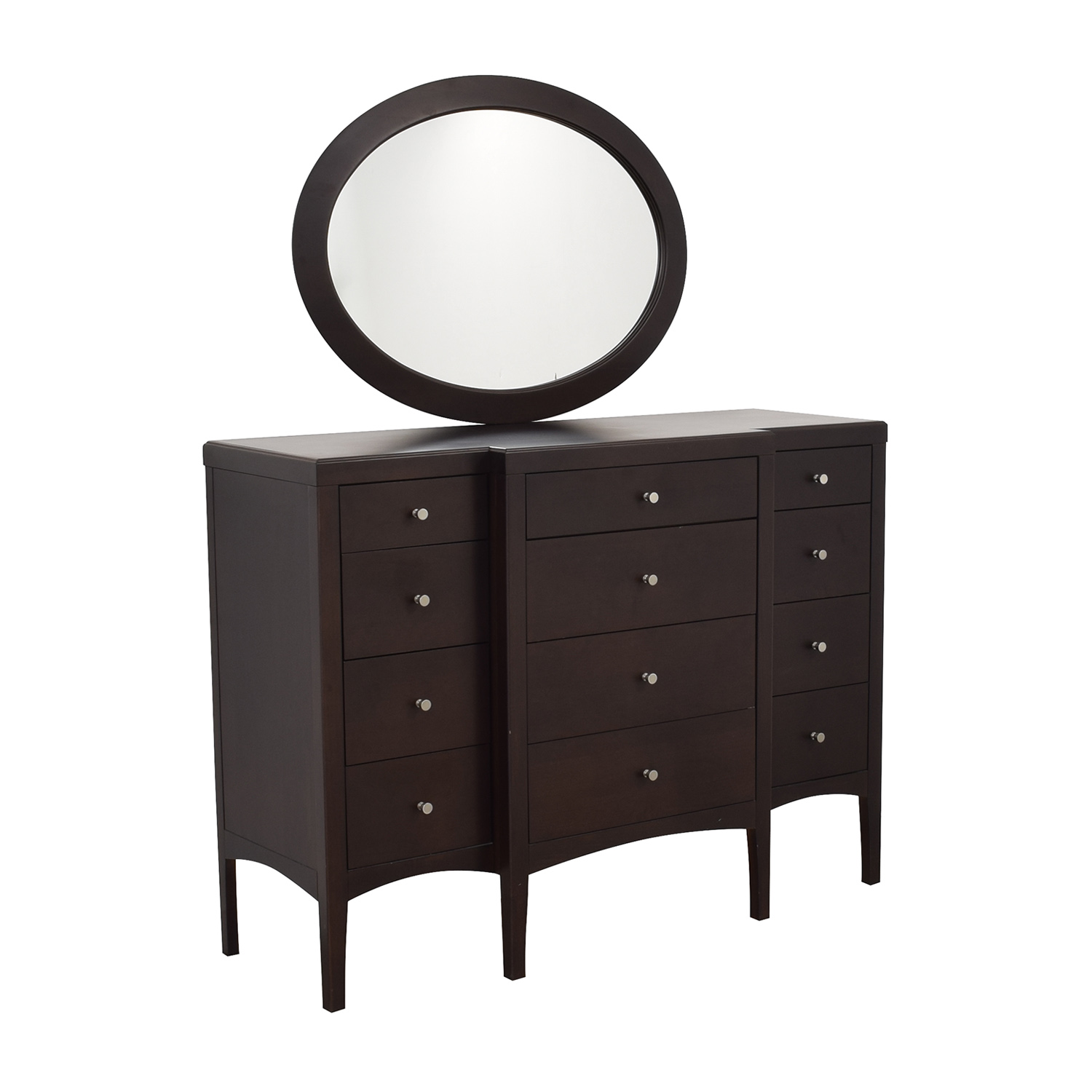 Macy's Macy's Chest of Drawers and Mirror ct