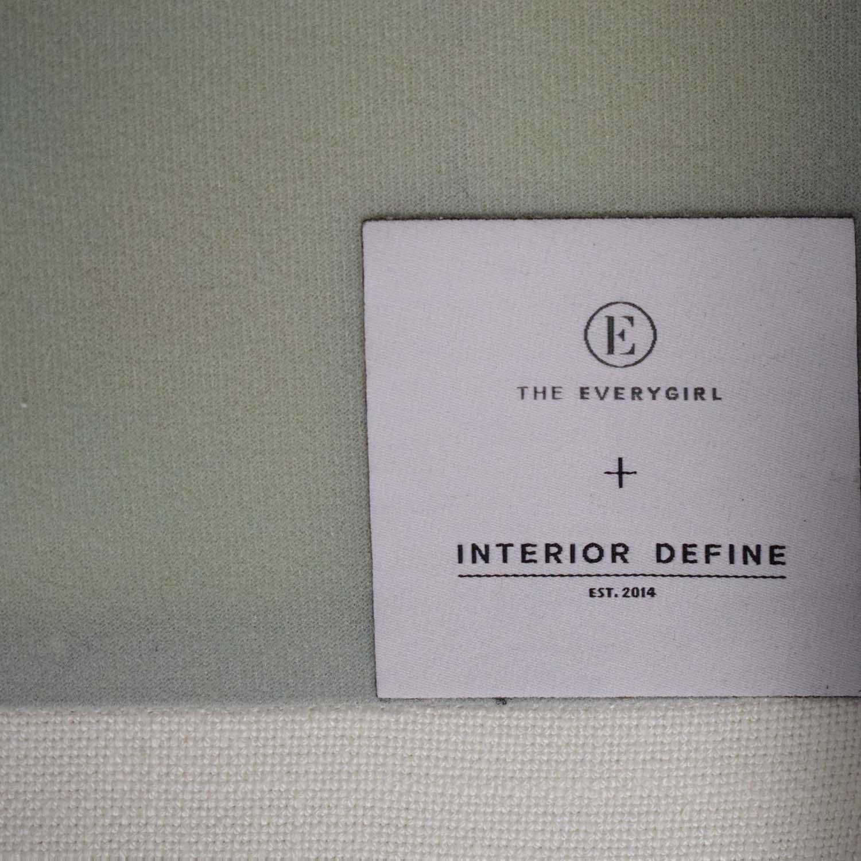 Interior Define Interior Define Caitlin by the Everygirl Sofa