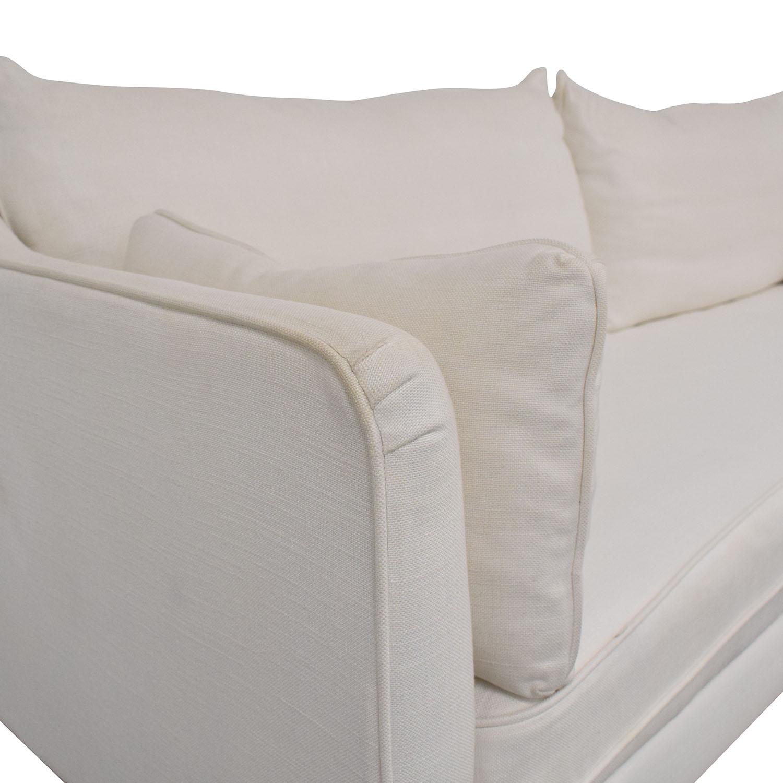 Interior Define Interior Define Caitlin by the Everygirl Sofa off white
