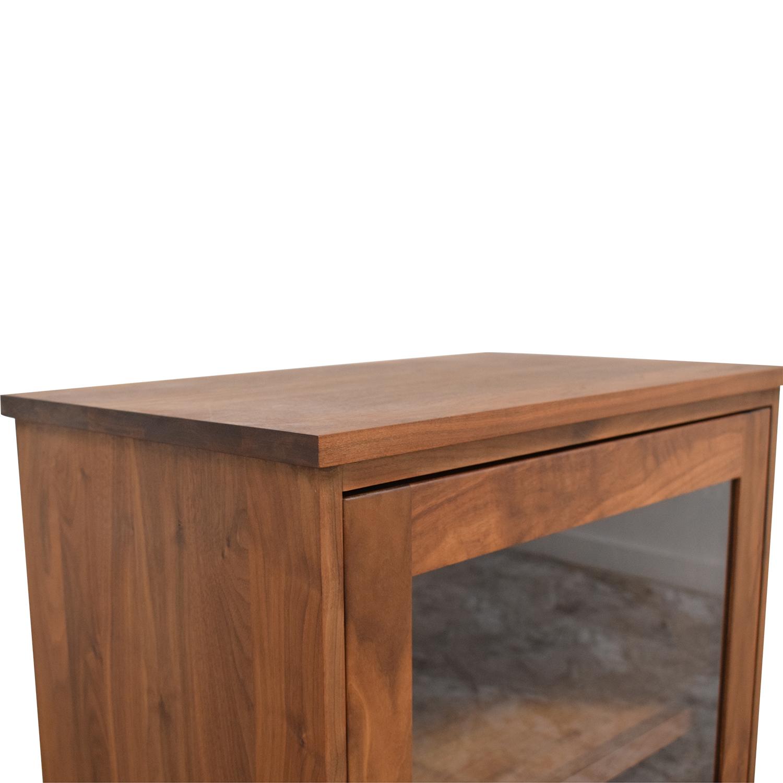 Room & Board Room & Board Linear Modular Custom One-Insert Cabinet second hand