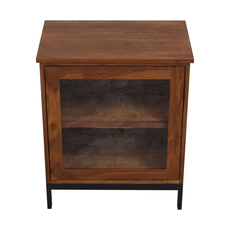 Room & Board Room & Board Linear Modular Custom One-Insert Cabinet brown