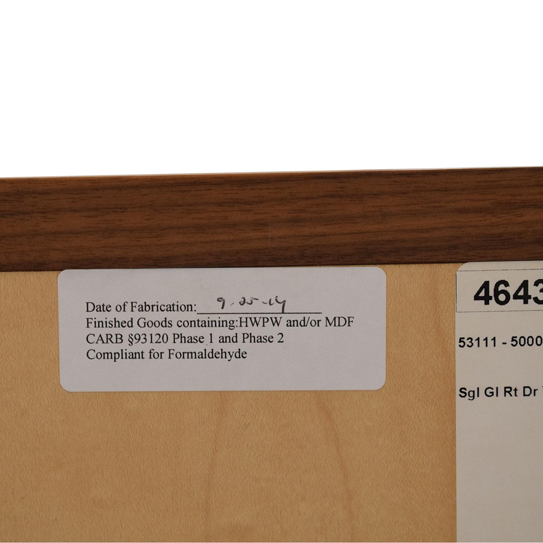 Room & Board Room & Board Linear Modular Custom One-Insert Cabinet
