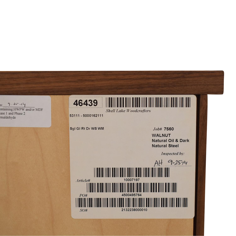 buy Room & Board Linear Modular Custom One-Insert Cabinet Room & Board Cabinets & Sideboards