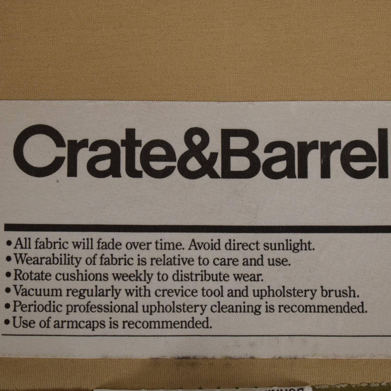Crate & Barrel Crate & Barrel Three Seat Sofa on sale