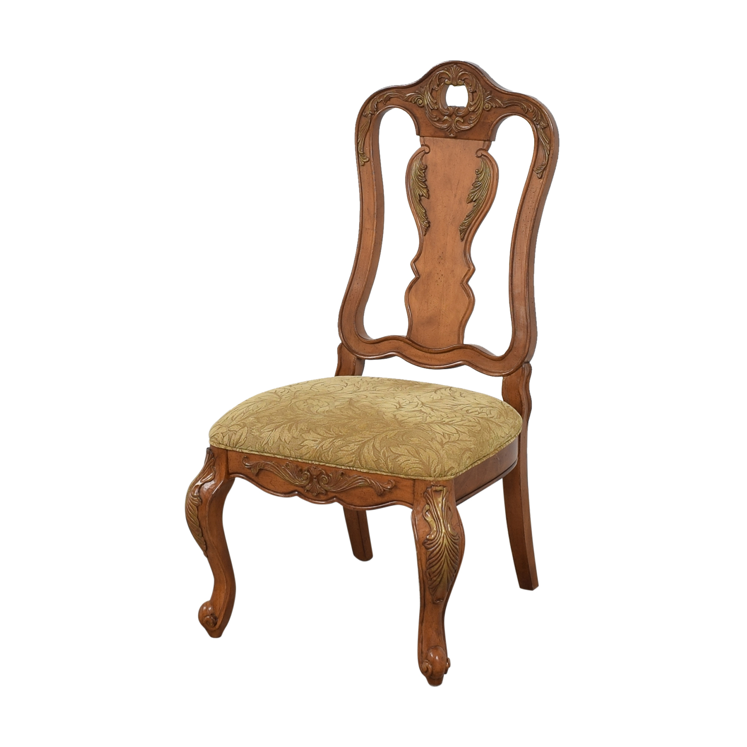 Raymour & Flanigan Carved Dining Chairs / Chairs