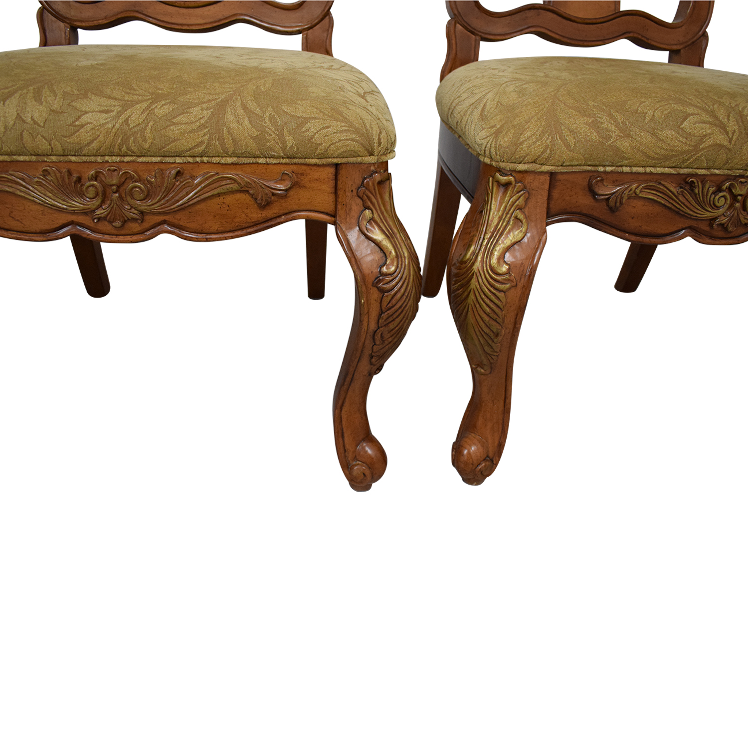 Raymour & Flanigan Raymour & Flanigan Carved Dining Chairs