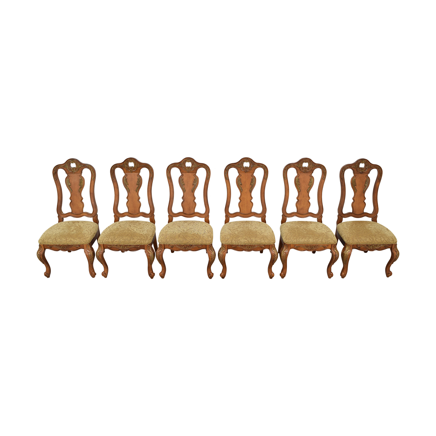 shop Raymour & Flanigan Carved Dining Chairs Raymour & Flanigan Chairs