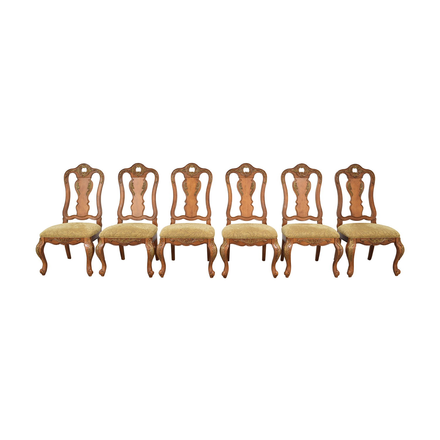 buy Raymour & Flanigan Raymour & Flanigan Carved Dining Chairs online