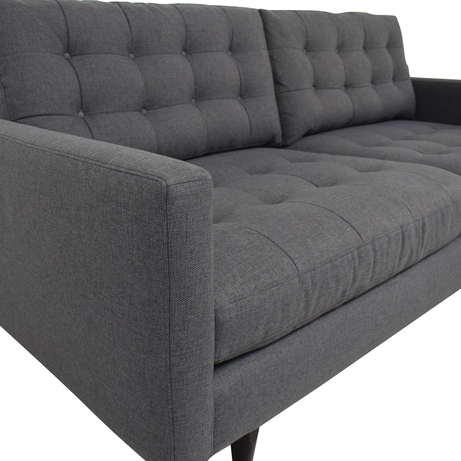 shop Crate & Barrel Petrie Apartment Sofa Crate & Barrel Loveseats