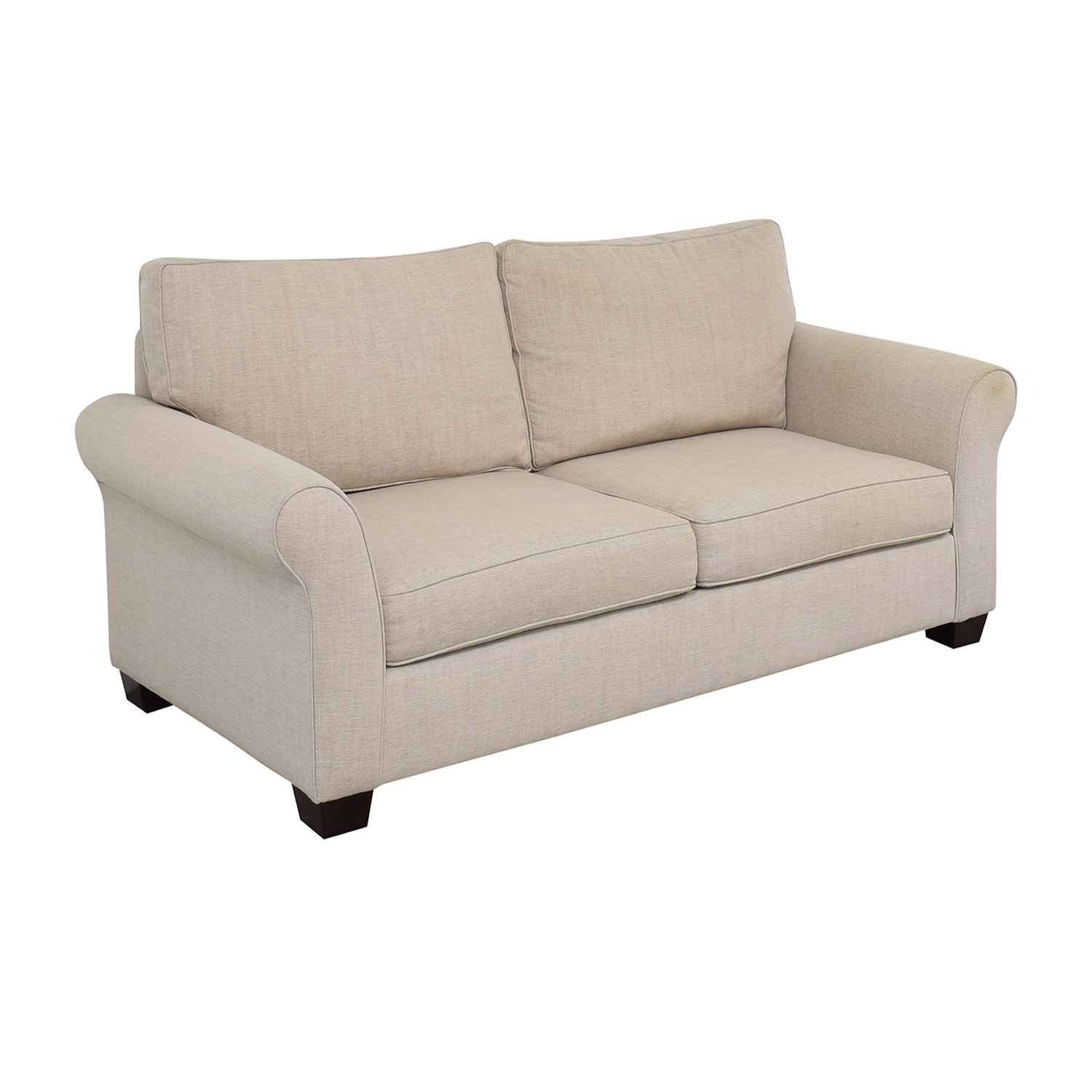 shop Pottery Barn Pottery Barn Comfort Roll Arm Upholstered Sofa online