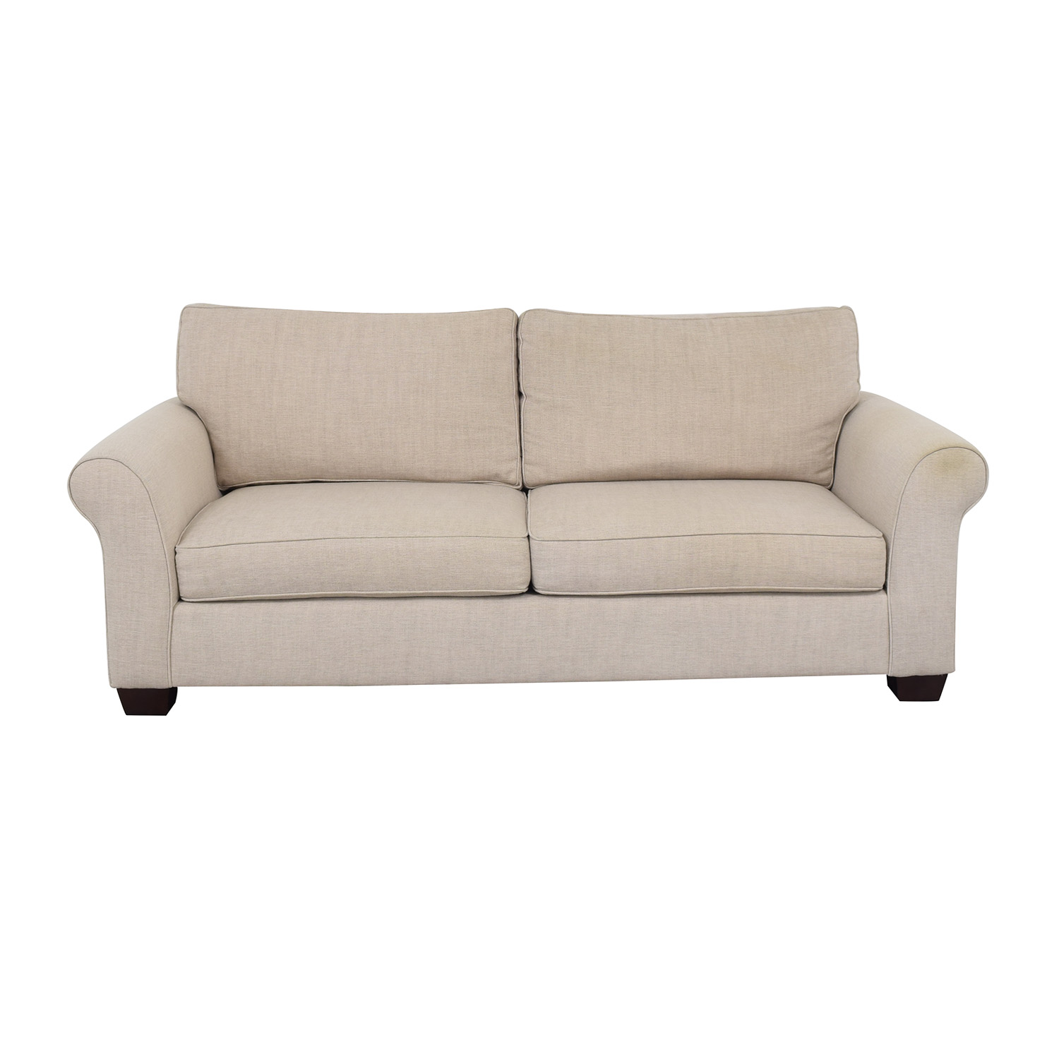 Pottery Barn Comfort Roll Arm Upholstered Sofa / Loveseats