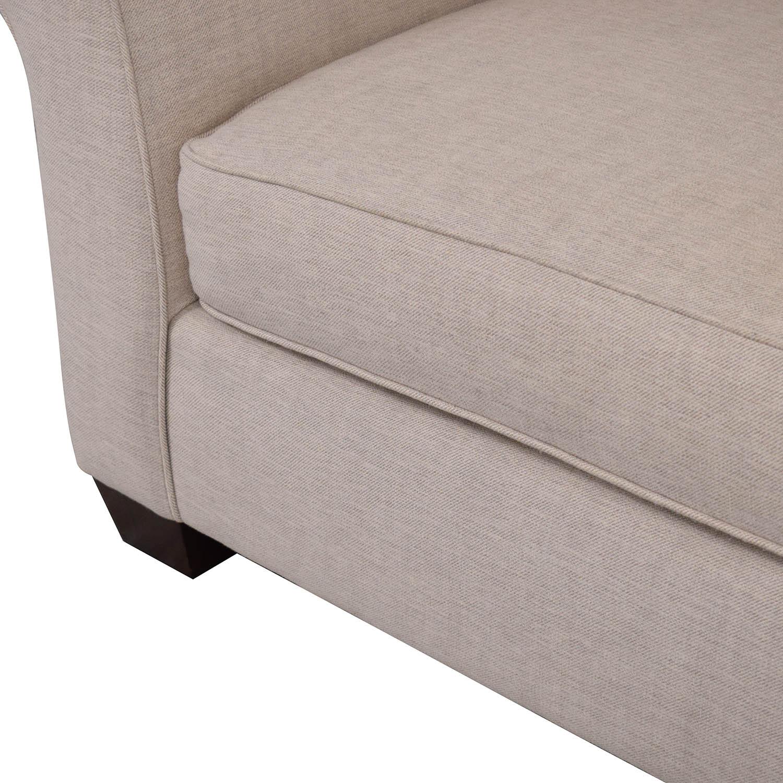 Pottery Barn Comfort Roll Arm Upholstered Sofa / Sofas