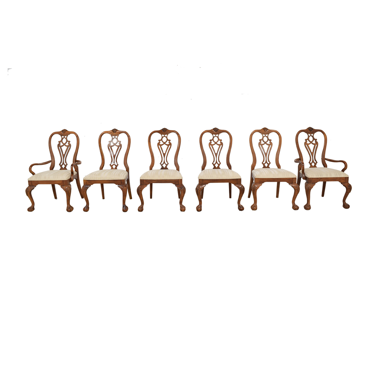 Thomasville Thomasville Queen Anne Style Dining Chairs