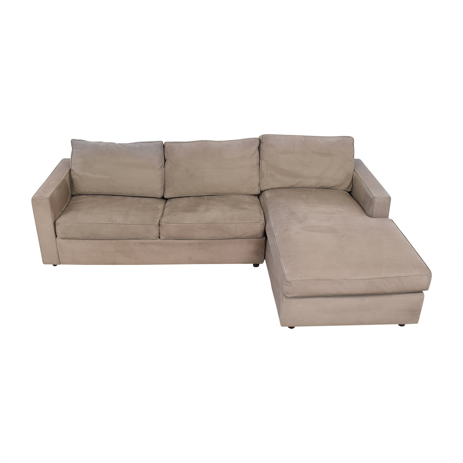 shop Room & Board Full Sleeper Sofa with Chaise Room & Board Sofas