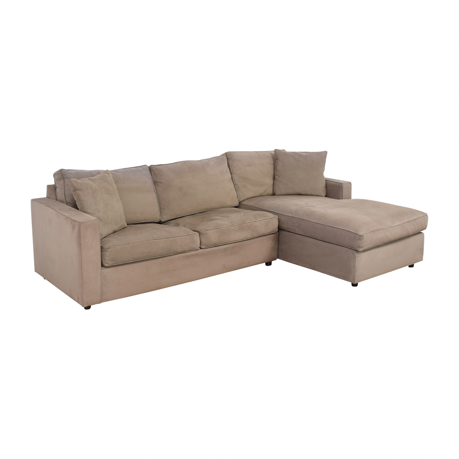 buy Room & Board Full Sleeper Sofa with Chaise Room & Board Sofas