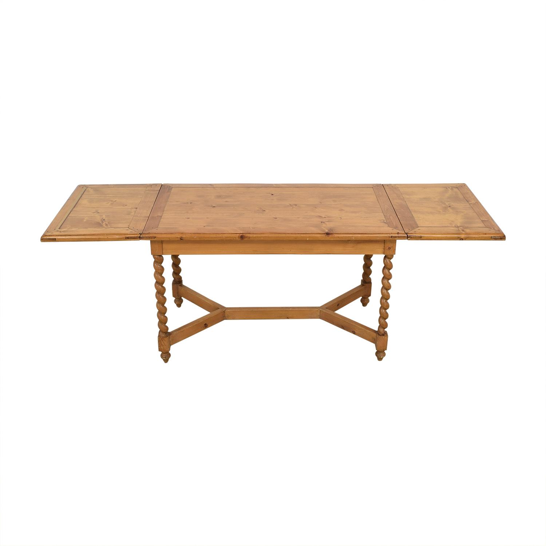 Extending Rectangular Dining Table nj