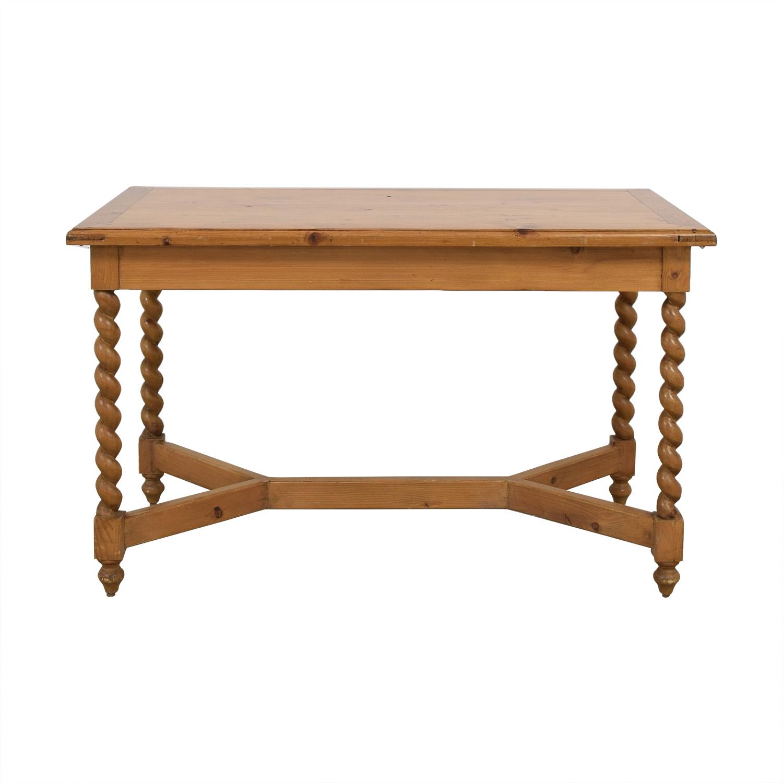Extending Rectangular Dining Table for sale