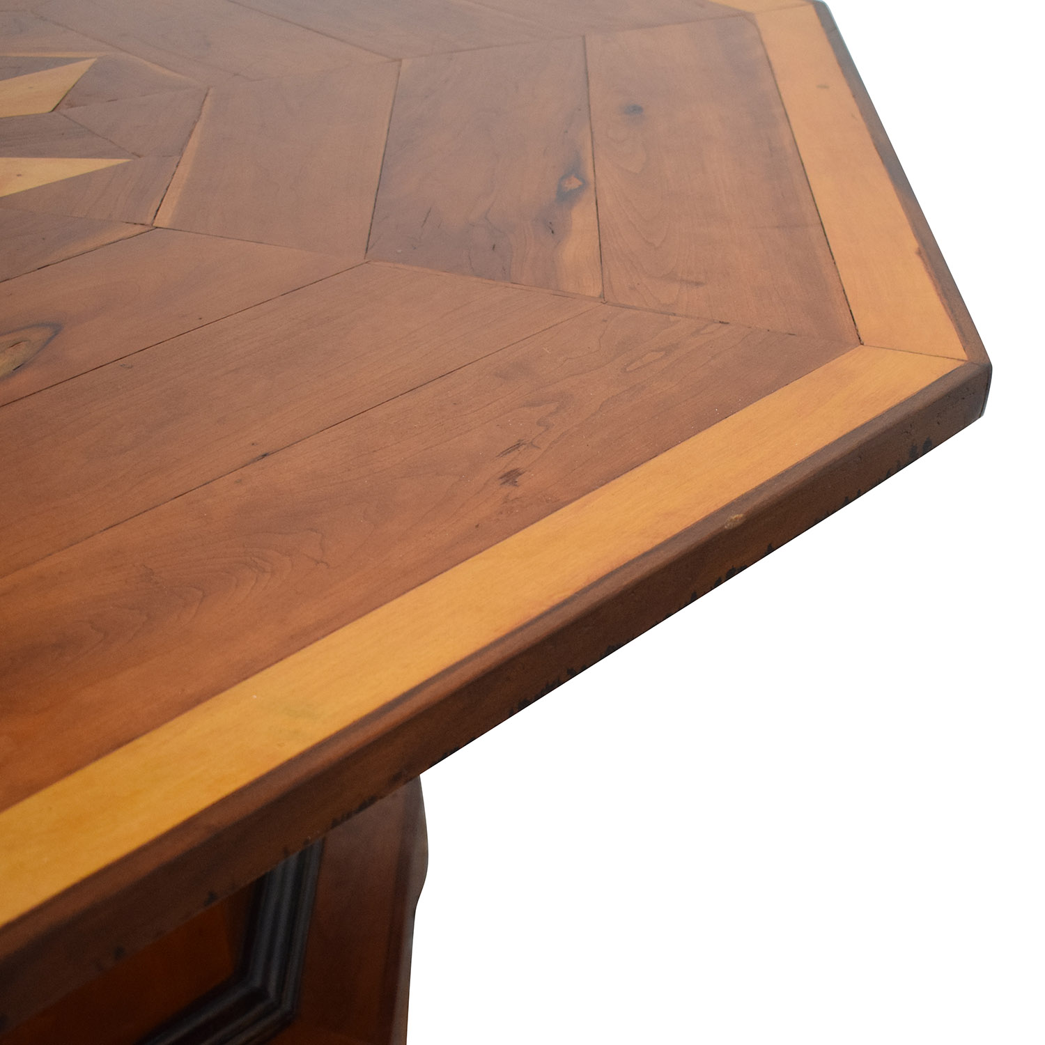 Octagonal Dining Table with Inlay used