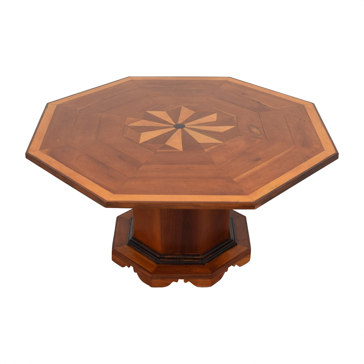 shop  Octagonal Dining Table with Inlay online