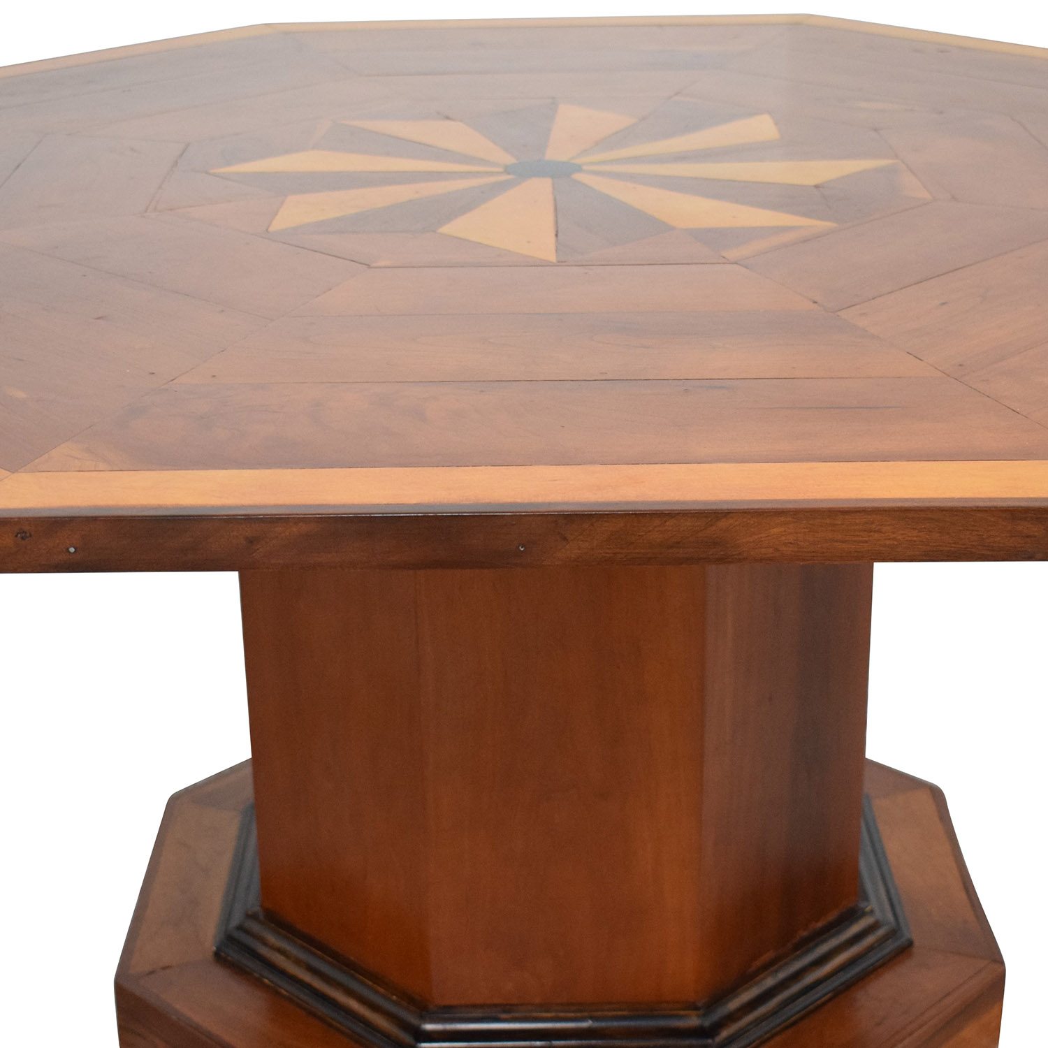 Octagonal Dining Table with Inlay dimensions