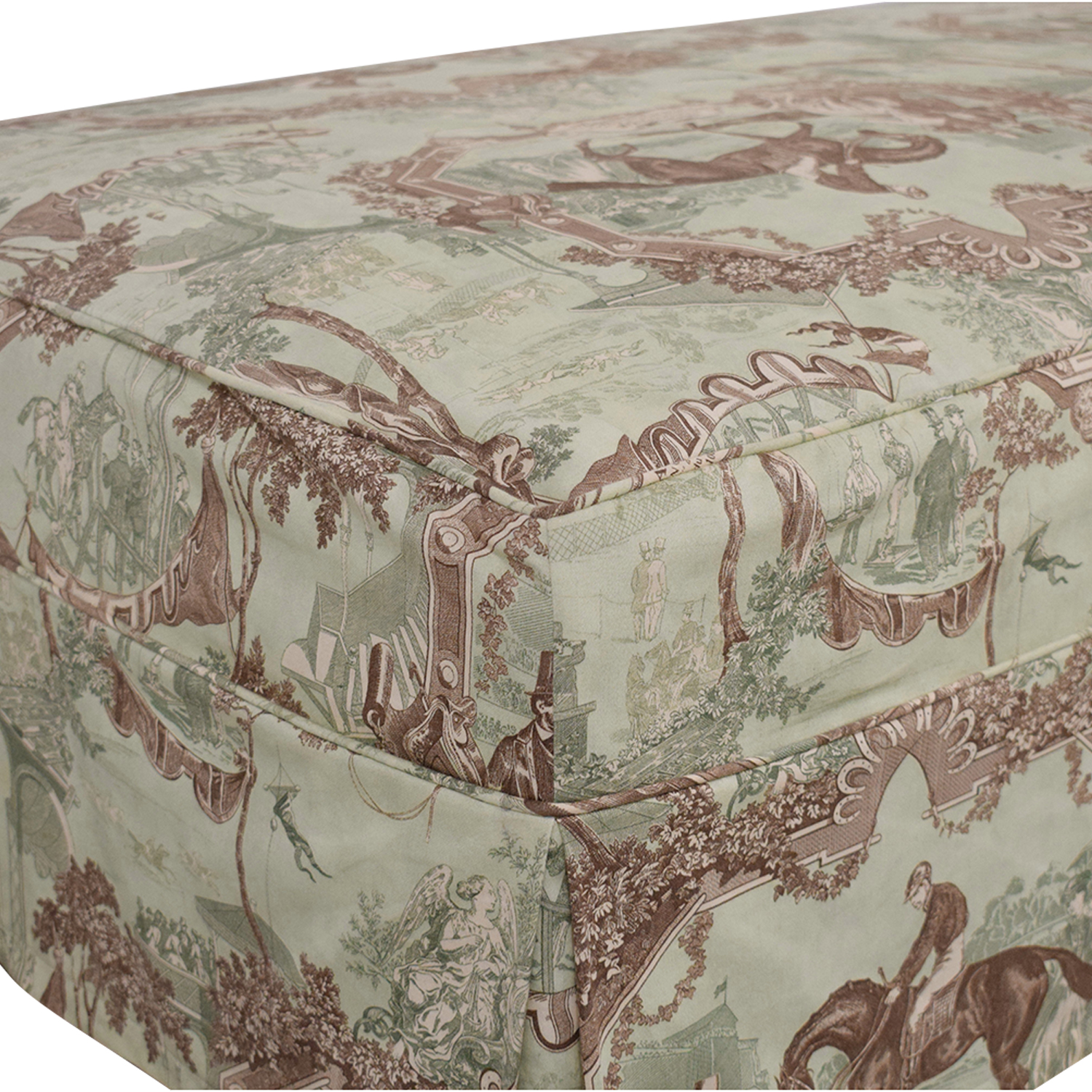 buy Custom Slipcovered Ottoman  Ottomans
