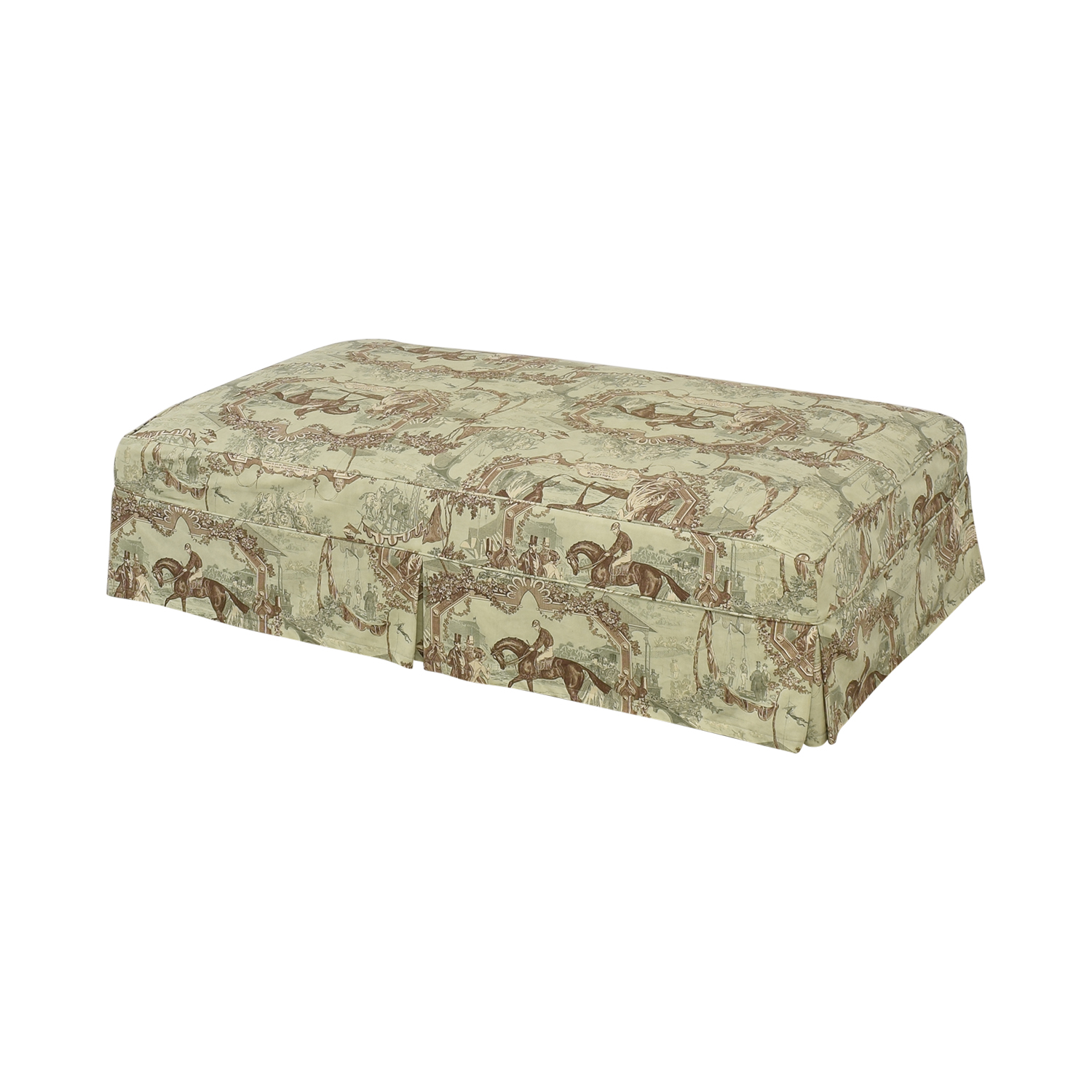 shop  Custom Slipcovered Ottoman online