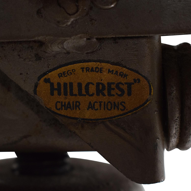 Hillcrest Chair Actions Hillcrest Swivel Desk Chair dimensions