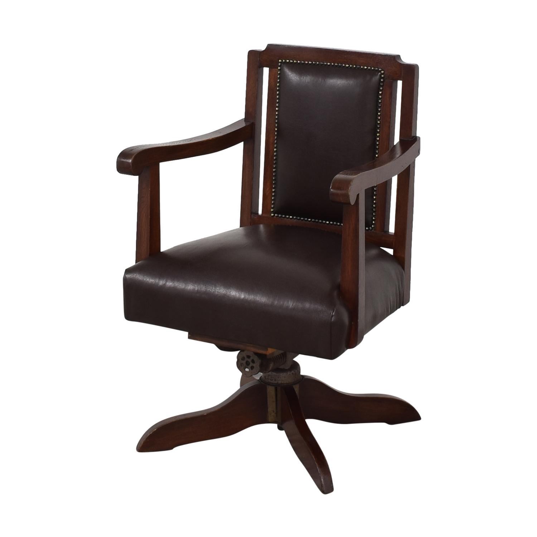 Hillcrest Chair Actions Hillcrest Swivel Desk Chair second hand