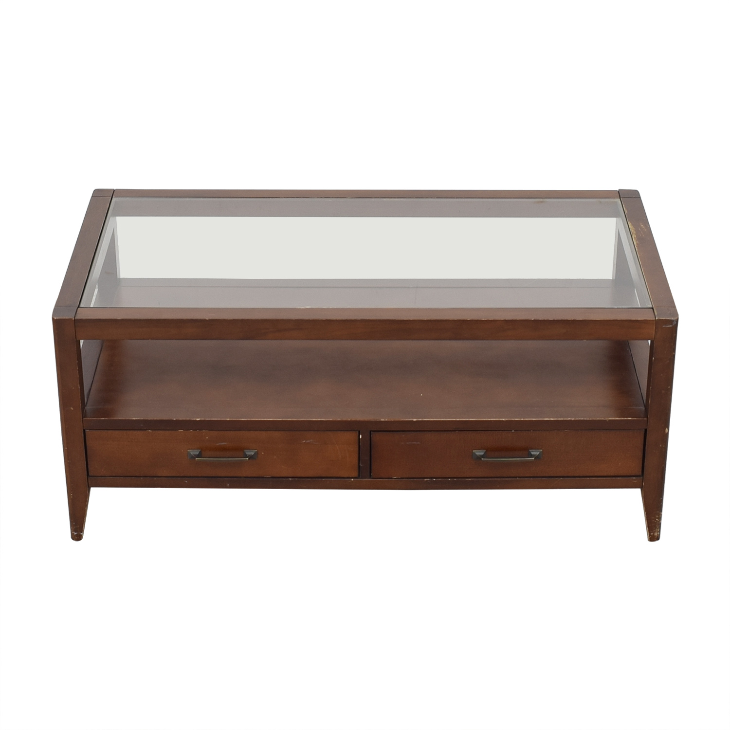 Crate & Barrel Crate & Barrel Two Drawer Coffee Table dimensions