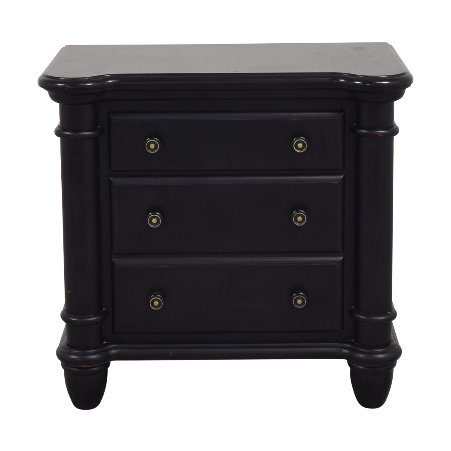 Two Drawer Nightstand dimensions