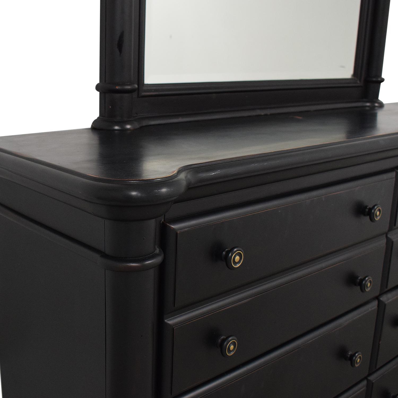 Standard Furniture Standard Furniture Eight Drawer Dresser with Mirror second hand