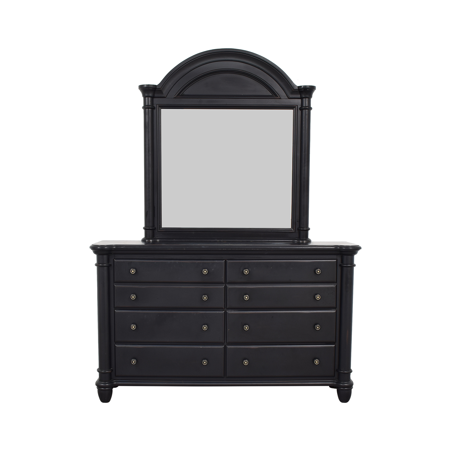 Standard Furniture Standard Furniture Eight Drawer Dresser with Mirror second hand
