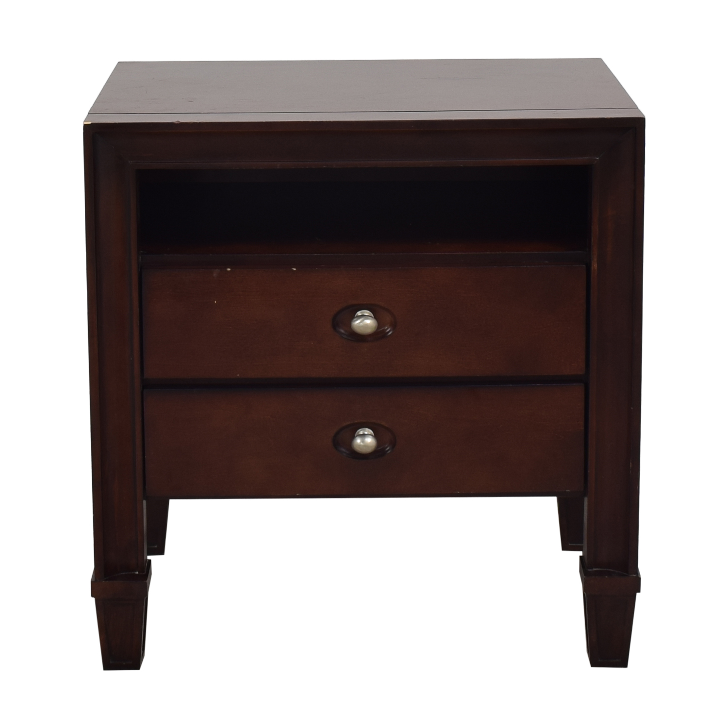 shop Harbor Home Two Drawer Nightstand Harbor Home Tables
