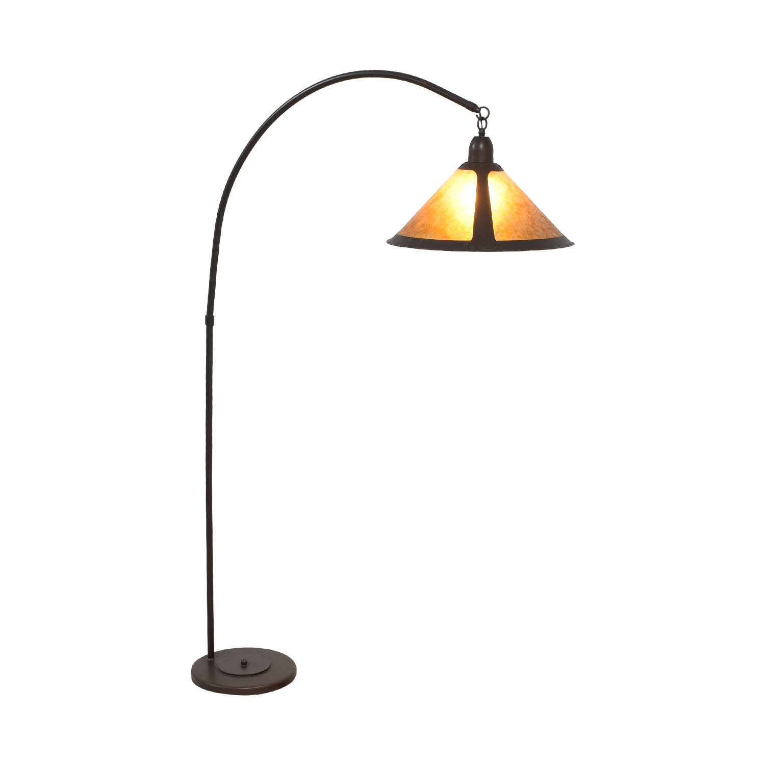 shop Mission Style Arc Floor Lamp Pottery Barn Lamps