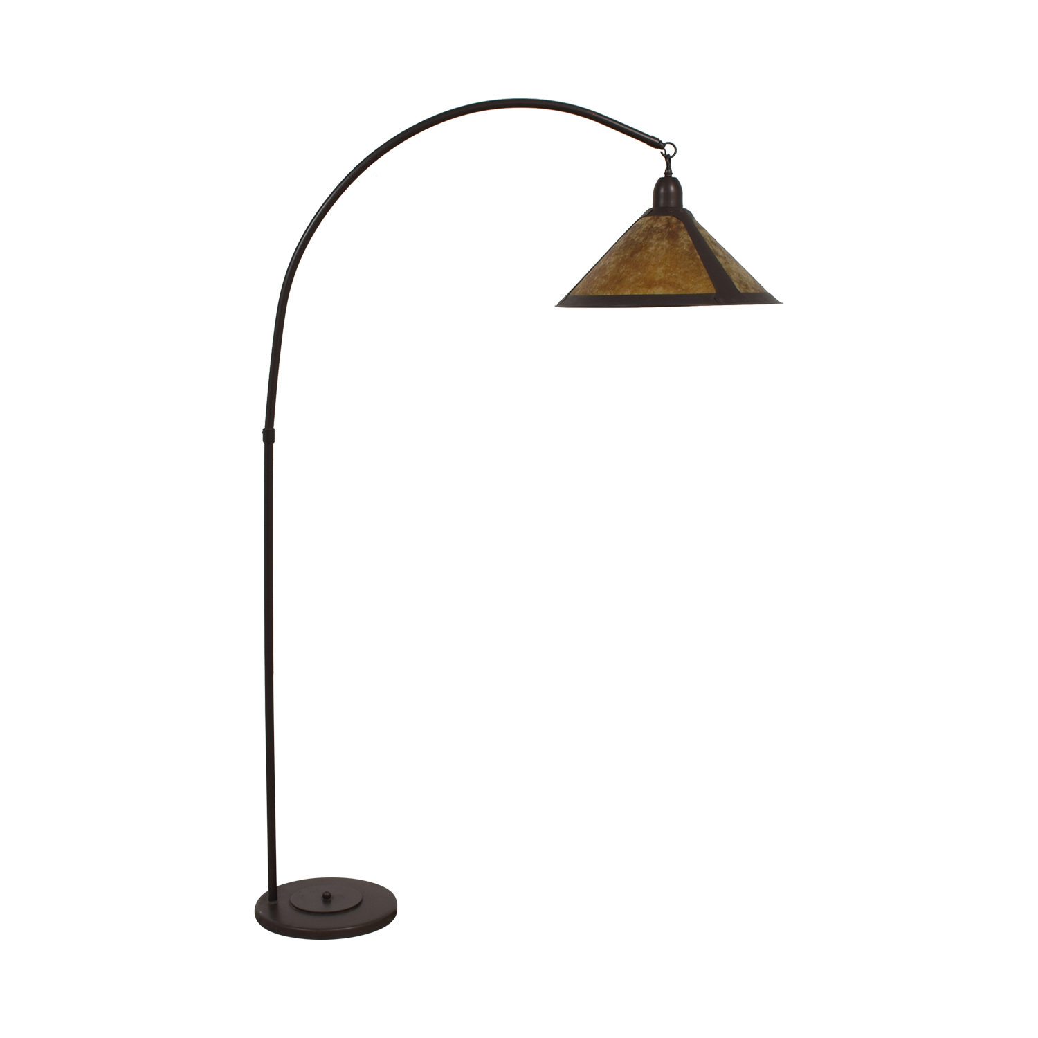 shop Mission Style Arc Floor Lamp Pottery Barn