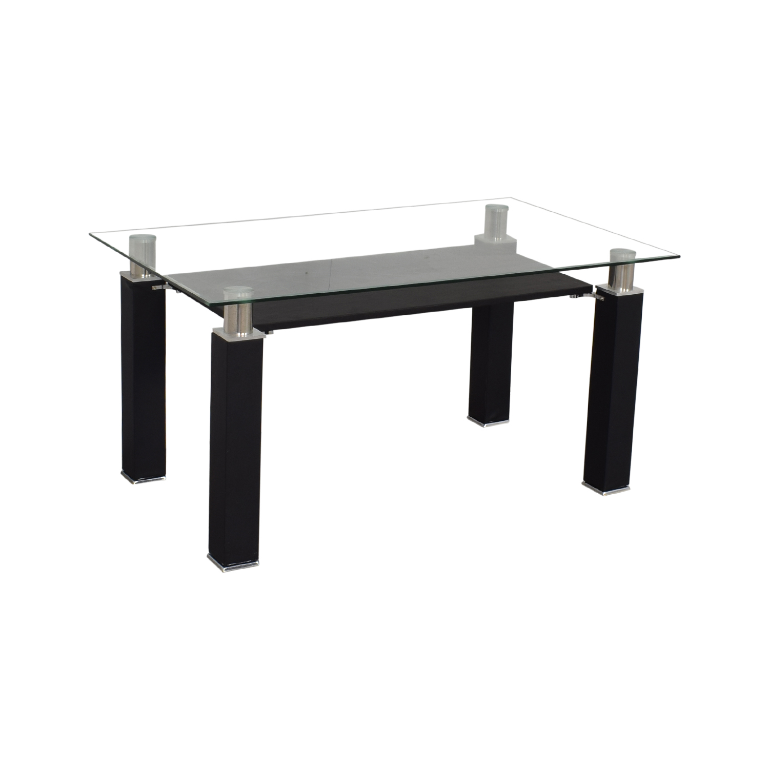 Acme Acme Furniture Modern Glass Dining Table for sale