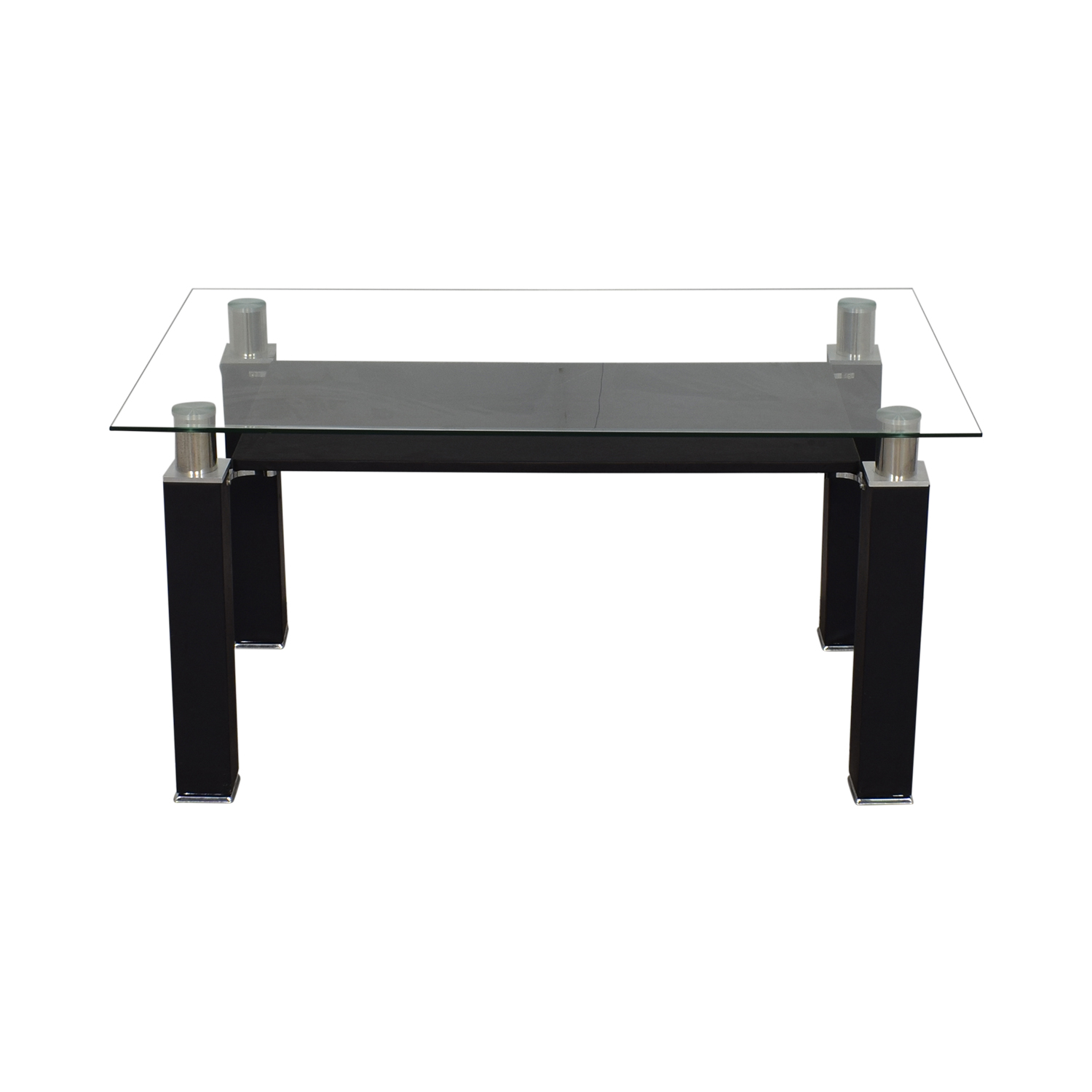 Acme Acme Furniture Modern Glass Dining Table