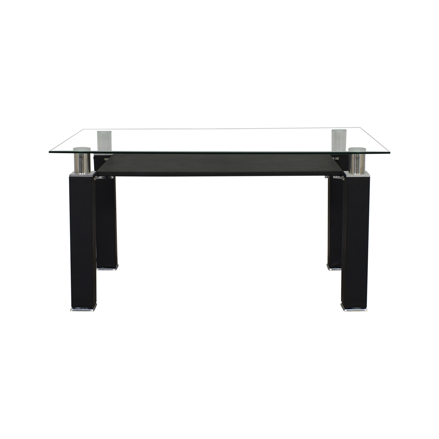 Acme Acme Furniture Modern Glass Dining Table on sale