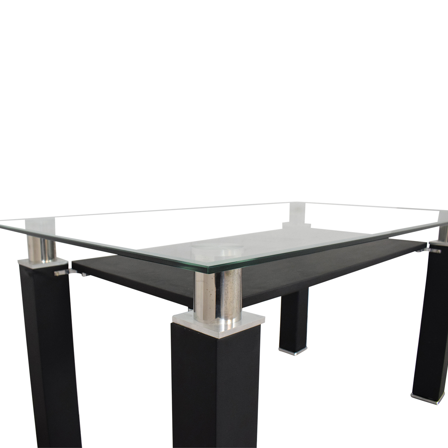 shop Acme Furniture Modern Glass Dining Table Acme Accent Tables
