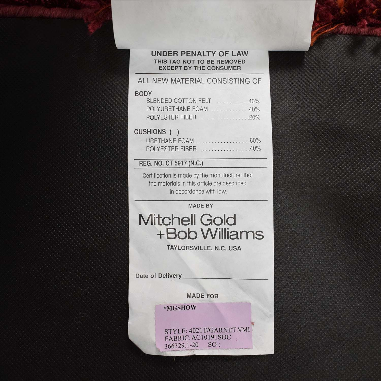shop Mitchell Gold + Bob Williams Franny Square Ottomans Mitchell Gold + Bob Williams