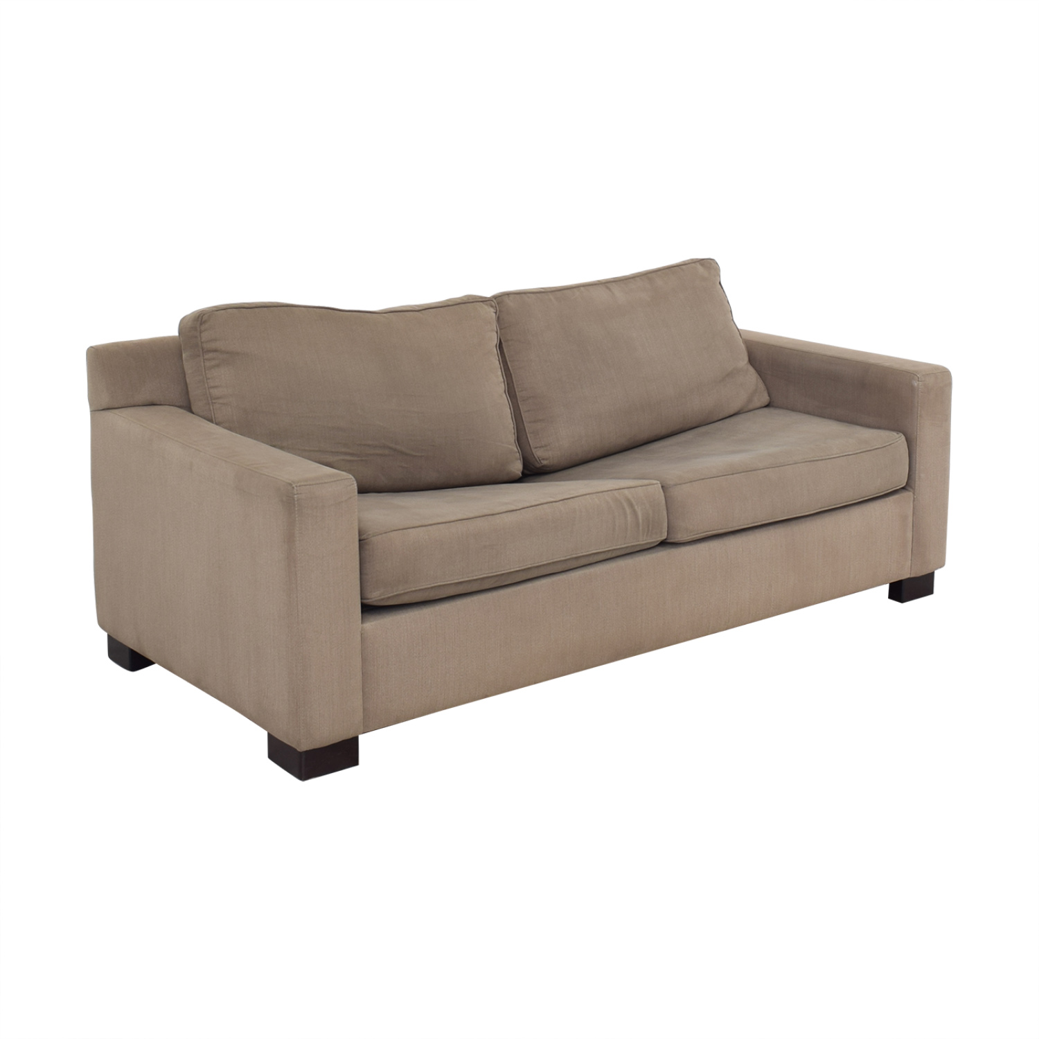 shop Urban Barn Apartment Sleeper Sofa & Ottoman Urban Barn Sofa Beds